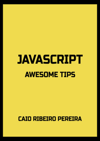 Livro: JavaScript Awesome Tips